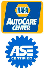 NAPA Auto Care and ASE Certified Shop