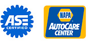 ASE Certified and NAPA AutoCare Center